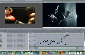 Moth to Flame editing the new fnutrition.com commercial, co-produced with coloredlion.com.... coming soon.