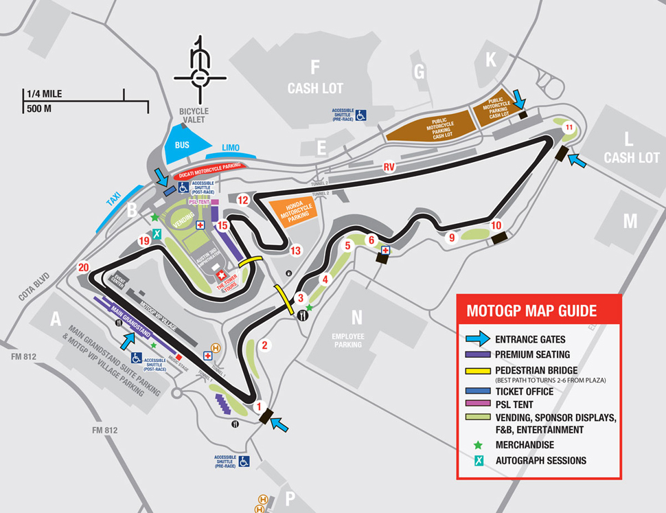 Circuit of the Americas MotoGP™ in Austin – ColoredLion.com