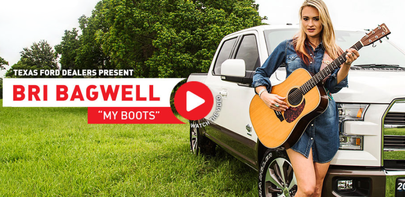 Bri Bagwell My Boots Lyric Video